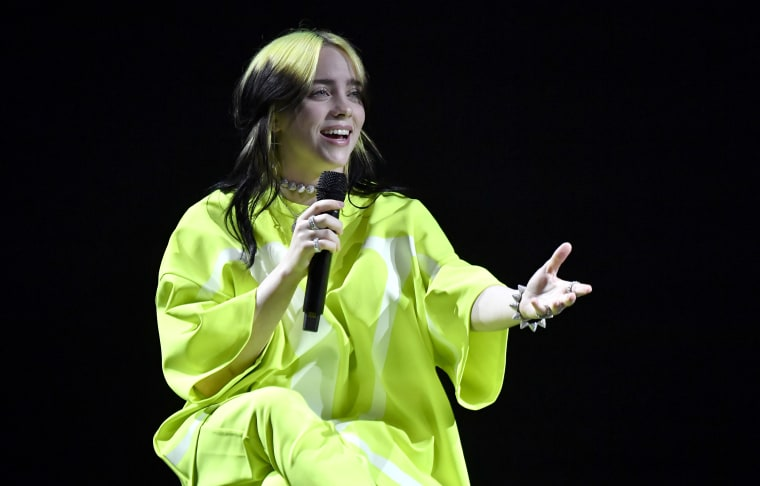"""Report: Trump admin document says Billie Eilish is """"destroying our country and everything we care about"""""""