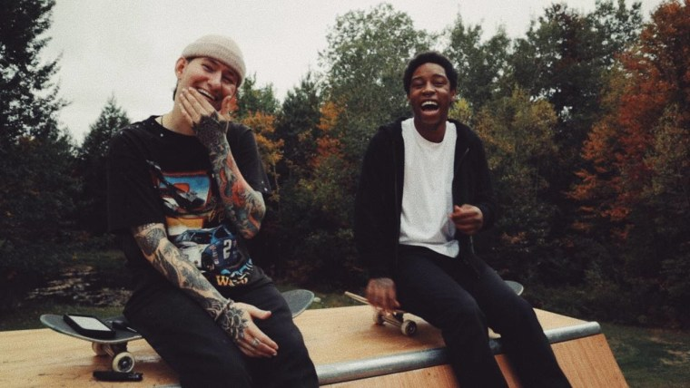 """nothing,nowhere. links with KennyHoopla and JUDGE on new single """"blood"""""""