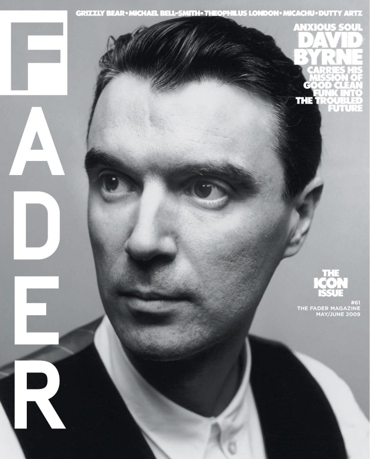 David Byrne is the next guest on The FADER Uncovered with Mark Ronson