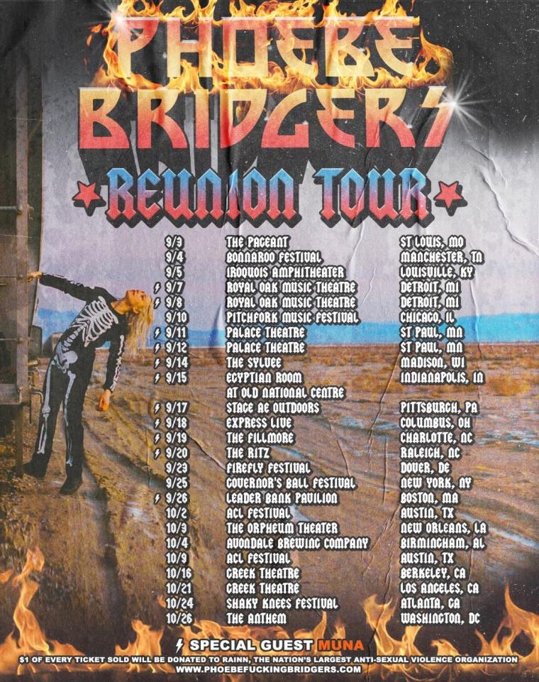 Phoebe Bridgers announces fall tour dates
