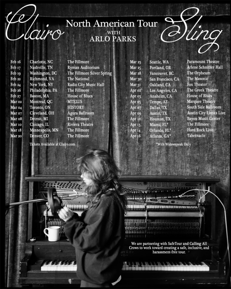 Clairo announces 2022 tour dates