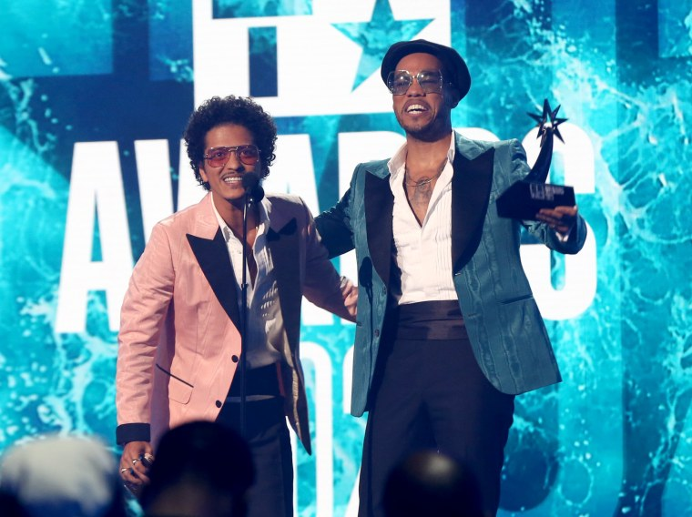 Bruno Mars and Anderson .Paak reveal new release date for Silk Sonic album